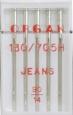 Иглы джинс №90, 5 шт