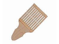 Бёрдышко ручное для лентоткацкого станка с рукояткой, 8 см